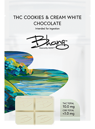 THC Cookies & Cream White Chocolate