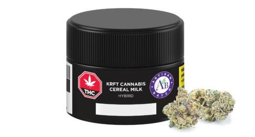 KRFT Cereal Milk Consumer Jar