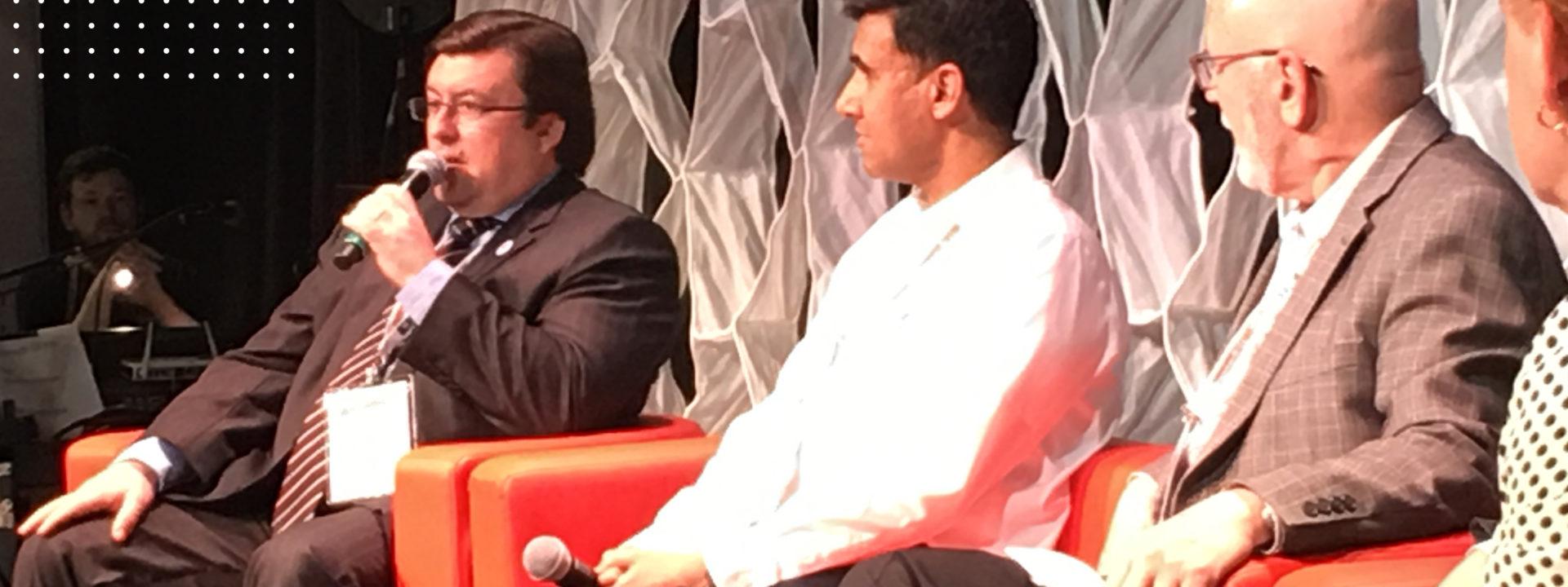Indiva CEO Niel Marotta at O'Cannabiz