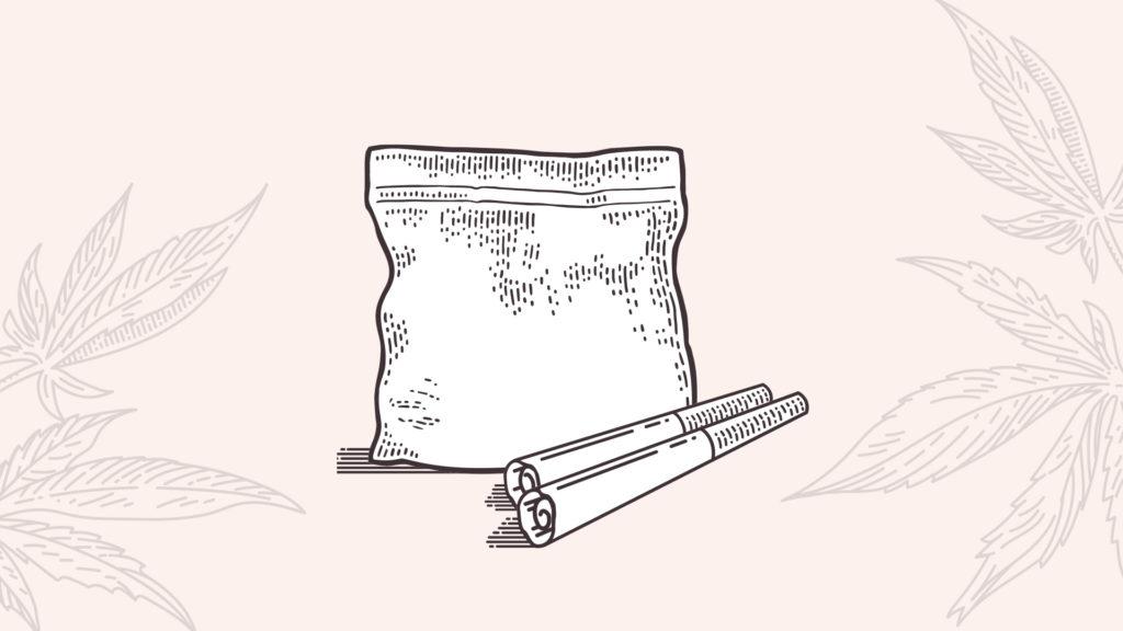 fresh Cannabis joints