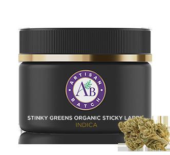 Stinky Greens Organic Sticky Larry